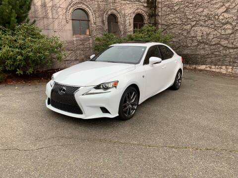 2016 Lexus IS 350 for sale at First Union Auto in Seattle WA