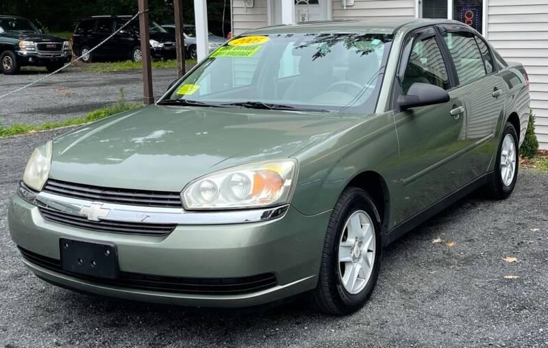 2005 Chevrolet Malibu for sale at Landmark Auto Sales Inc in Attleboro MA