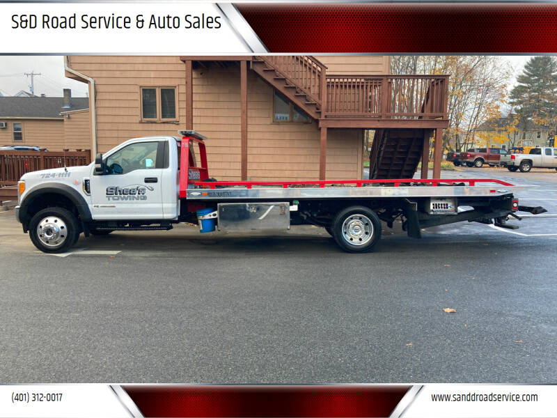 2017 Ford F-550 Super Duty for sale at S&D Road Service & Auto Sales in Cumberland RI