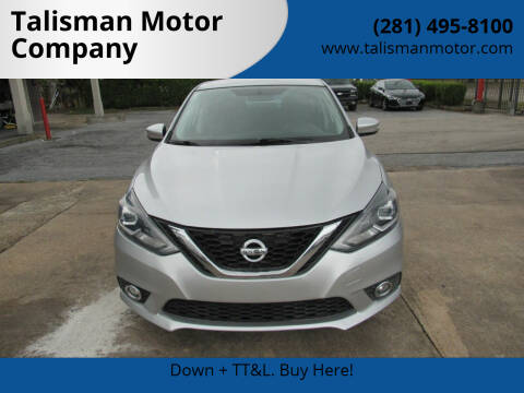 2016 Nissan Sentra for sale at Don Jacobson Automobiles in Houston TX