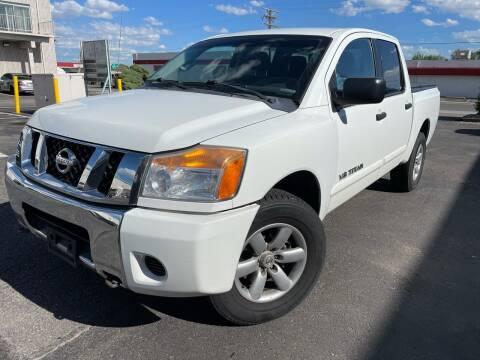2012 Nissan Titan for sale at Zapp Motors in Englewood CO
