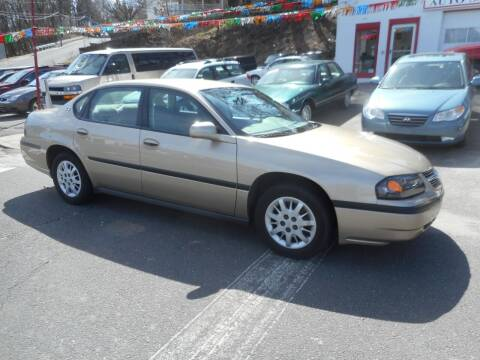 2004 Chevrolet Impala for sale at Ricciardi Auto Sales in Waterbury CT