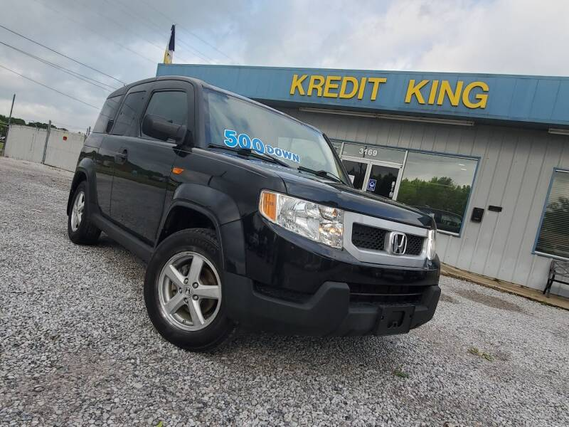 2010 Honda Element for sale at Kredit King Autos in Montgomery AL
