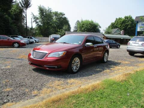 2011 Chrysler 200 for sale at PENDLETON PIKE AUTO SALES in Ingalls IN