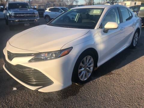 2019 Toyota Camry for sale at SUNSET CURVE AUTO PARTS INC in Weyauwega WI