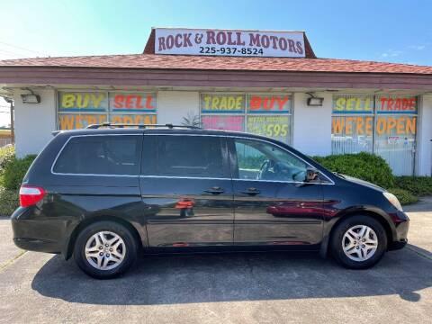 2006 Honda Odyssey for sale at Rock & Roll Motors in Baton Rouge LA