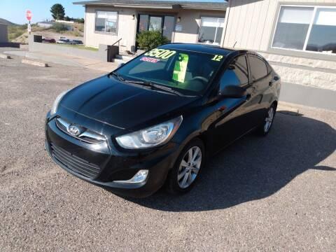 2012 Hyundai Accent for sale at Hilltop Motors in Globe AZ