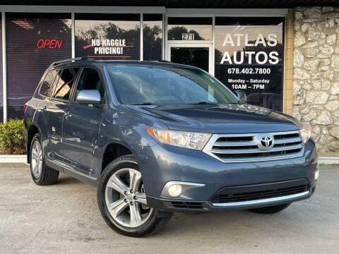 2011 Toyota Highlander for sale at ATLAS AUTOS in Marietta GA