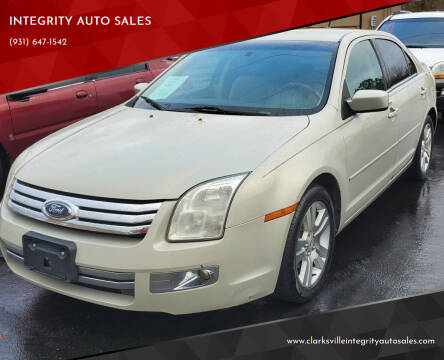 2008 Ford Fusion for sale at INTEGRITY AUTO SALES in Clarksville TN