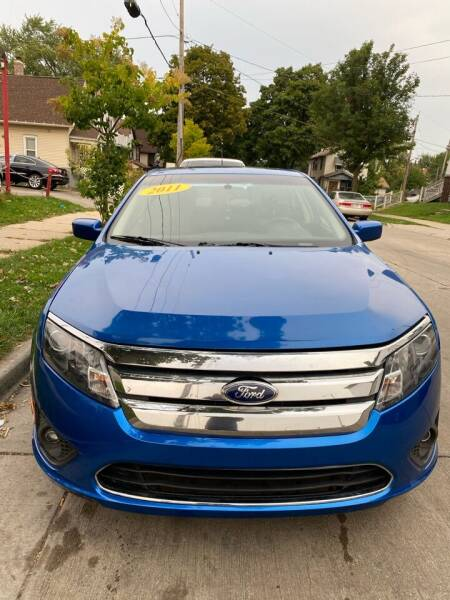2011 Ford Fusion for sale at Sphinx Auto Sales LLC in Milwaukee WI