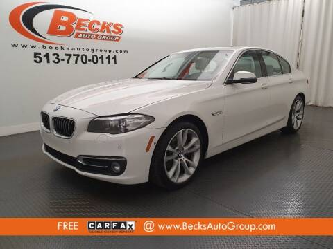2014 BMW 5 Series for sale at Becks Auto Group in Mason OH