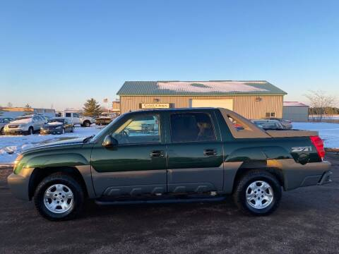 2002 Chevrolet Avalanche for sale at Car Guys Autos in Tea SD