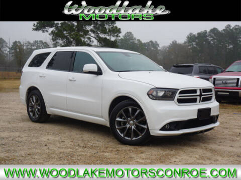 2014 Dodge Durango for sale at WOODLAKE MOTORS in Conroe TX