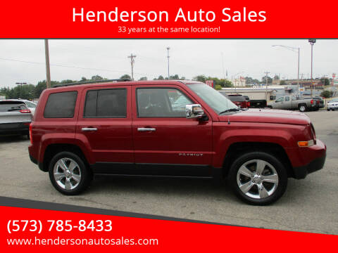 2017 Jeep Patriot for sale at Henderson Auto Sales in Poplar Bluff MO