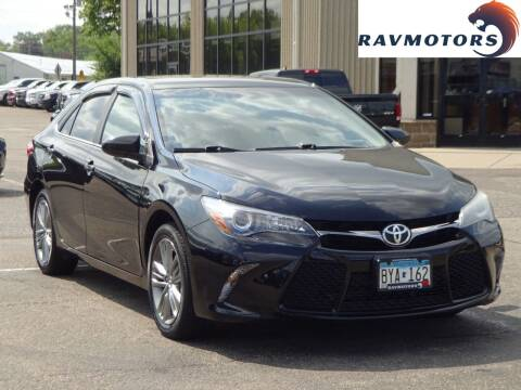2015 Toyota Camry for sale at RAVMOTORS 2 in Crystal MN