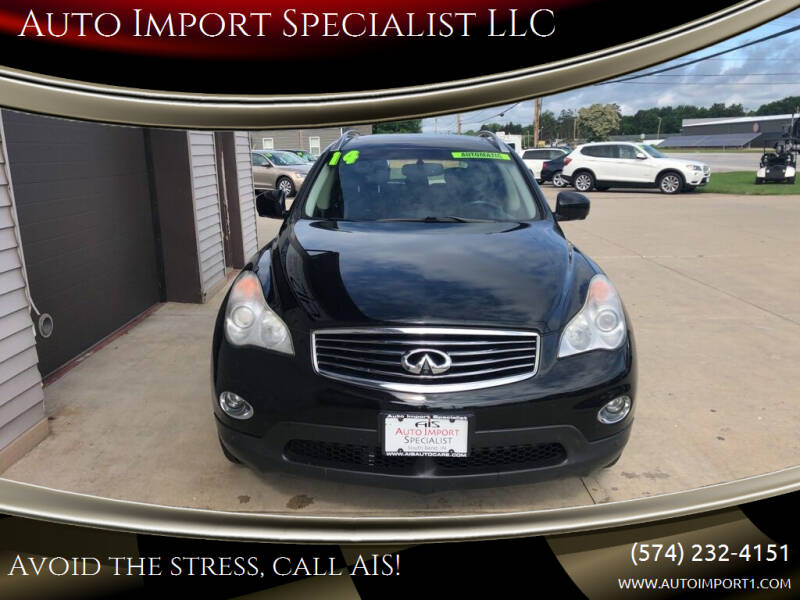 2014 Infiniti QX50 for sale at Auto Import Specialist LLC in South Bend IN