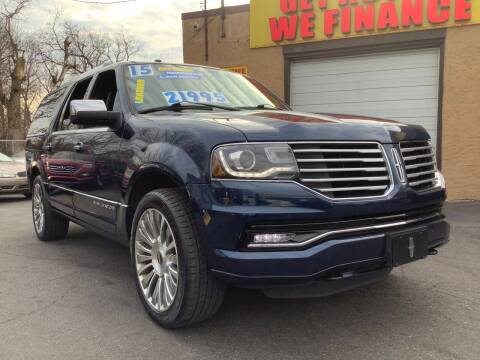 2015 Lincoln Navigator L for sale at Active Auto Sales Inc in Philadelphia PA