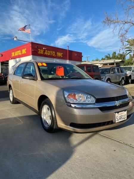 2004 Chevrolet Malibu for sale at 3K Auto in Escondido CA