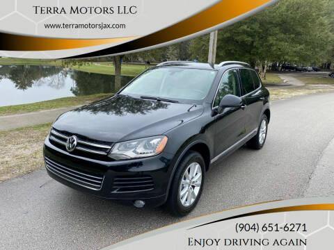 2013 Volkswagen Touareg for sale at Terra Motors LLC in Jacksonville FL