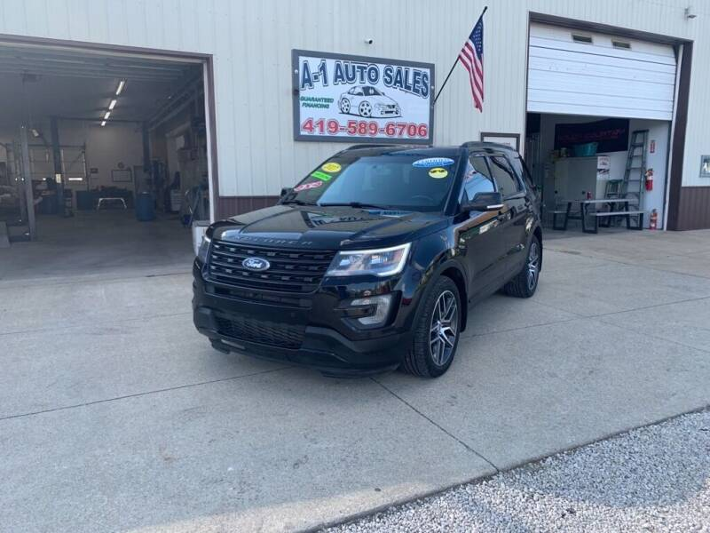 2017 Ford Explorer for sale at A-1 AUTO SALES in Mansfield OH