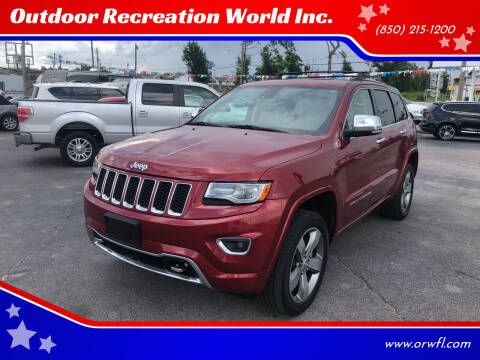 2014 Jeep Grand Cherokee for sale at Outdoor Recreation World Inc. in Panama City FL
