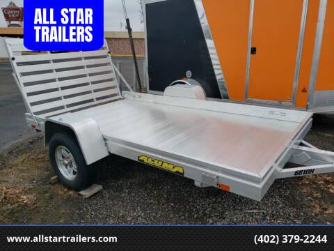 2020 Aluma 6810H for sale at ALL STAR TRAILERS Utilities in , NE