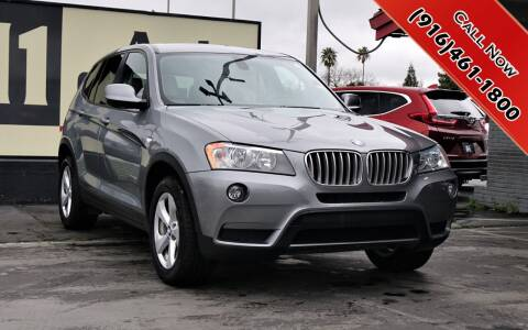 2012 BMW X3 for sale at H1 Auto Group in Sacramento CA