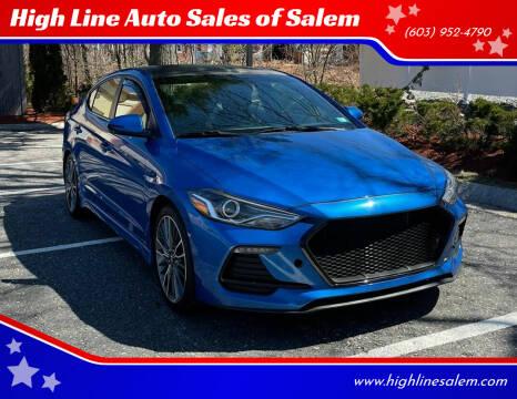 2017 Hyundai Elantra for sale at High Line Auto Sales of Salem in Salem NH