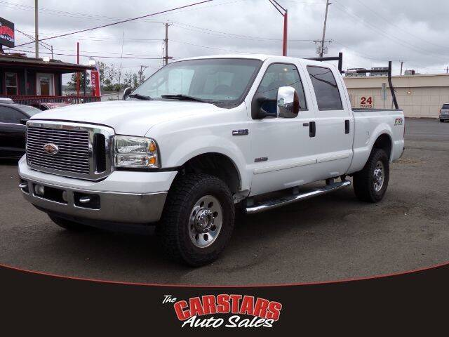 2007 Ford F-250 Super Duty for sale at CARSTARS AUTO SALES in Olympia WA
