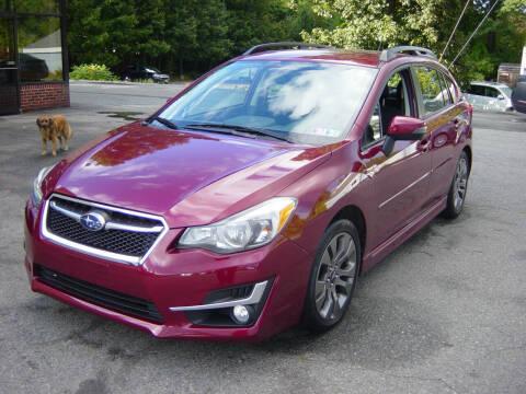 2015 Subaru Impreza for sale at North South Motorcars in Seabrook NH