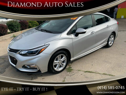 2017 Chevrolet Cruze for sale at Diamond Auto Sales in Milwaukee WI