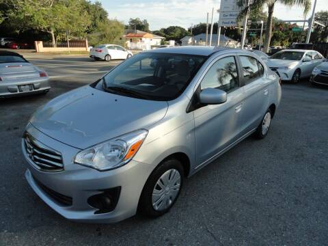 2019 Mitsubishi Mirage G4 for sale at DeWitt Motor Sales in Sarasota FL