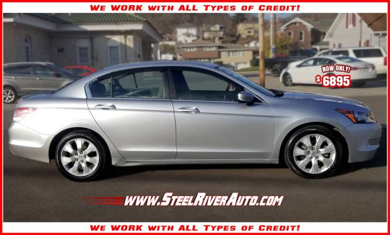 2008 Honda Accord for sale at Steel River Auto in Bridgeport OH