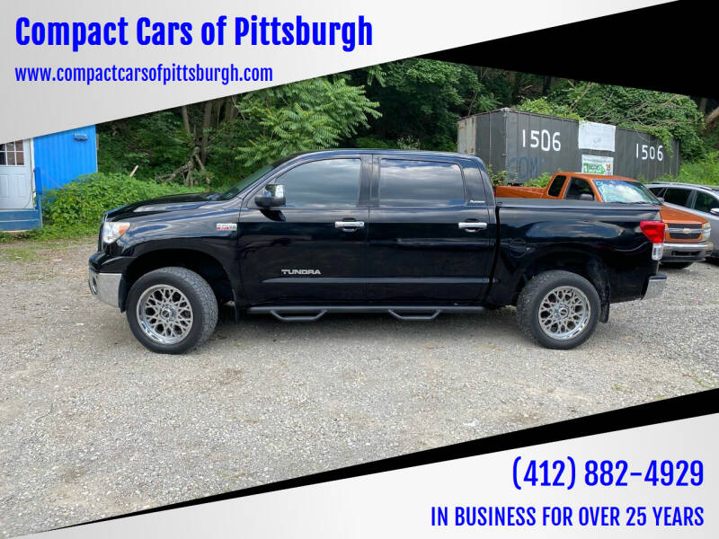 2013 Toyota Tundra for sale at Compact Cars of Pittsburgh in Pittsburgh PA