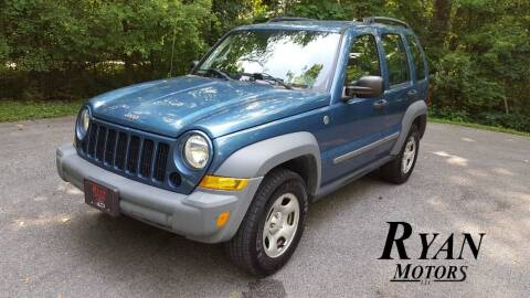 2005 Jeep Liberty for sale at Ryan Motors LLC in Warsaw IN