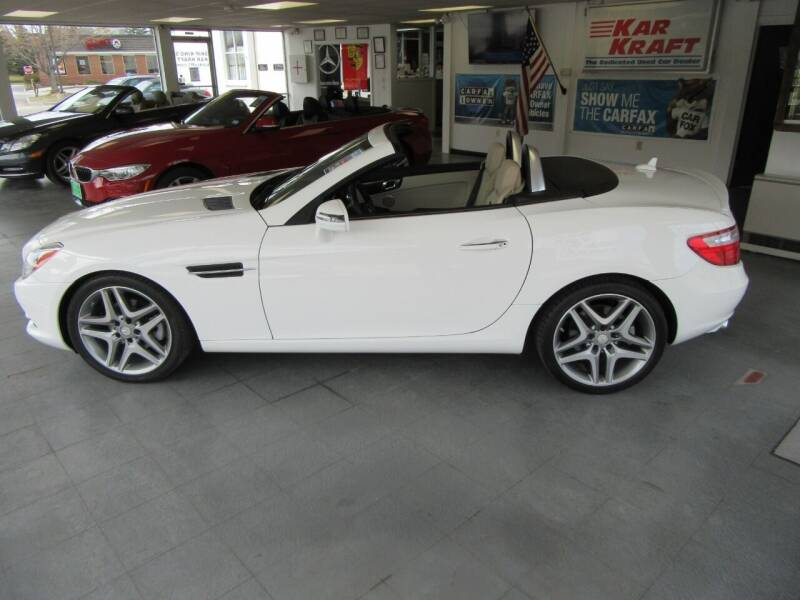 2015 Mercedes-Benz SLK for sale at Kar Kraft in Gilford NH