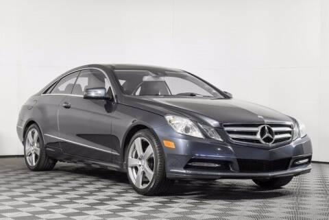 2013 Mercedes-Benz E-Class for sale at Washington Auto Credit in Puyallup WA