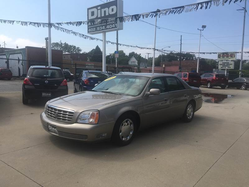 2001 Cadillac DeVille for sale at Dino Auto Sales in Omaha NE