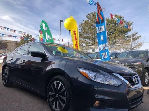 2018 Nissan Altima for sale at Duke City Auto LLC in Gallup NM