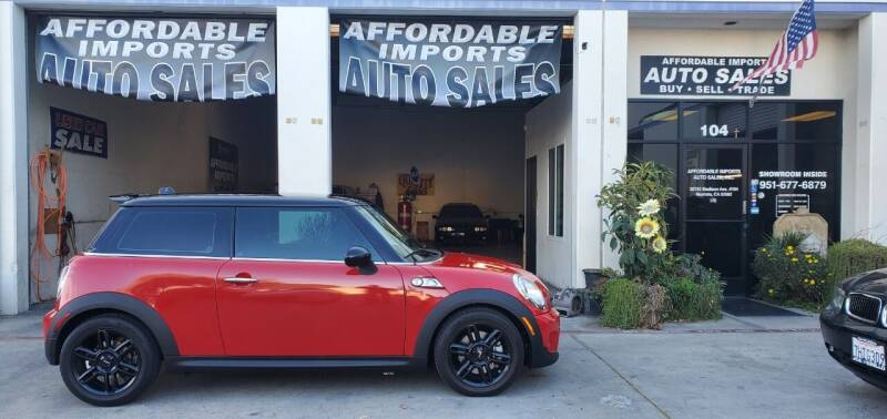 2012 MINI Cooper Hardtop for sale at Affordable Imports Auto Sales in Murrieta CA