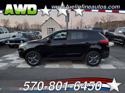 2015 Hyundai Tucson for sale at FUELIN FINE AUTO SALES INC in Saylorsburg PA