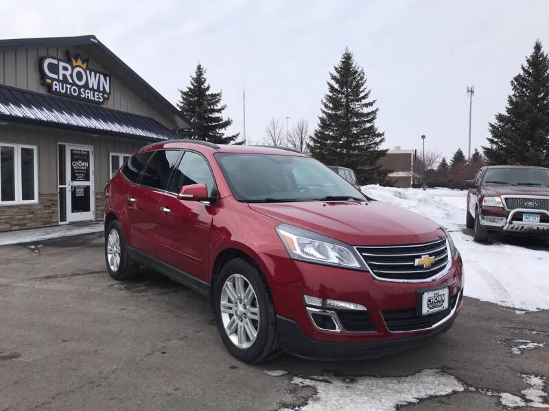 2013 Chevrolet Traverse for sale at Crown Motor Inc in Grand Forks ND