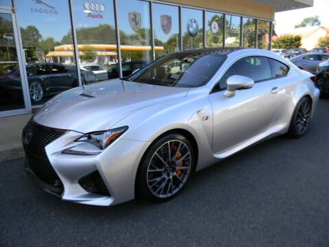 2016 Lexus RC F for sale at Platinum Motorcars in Warrenton VA