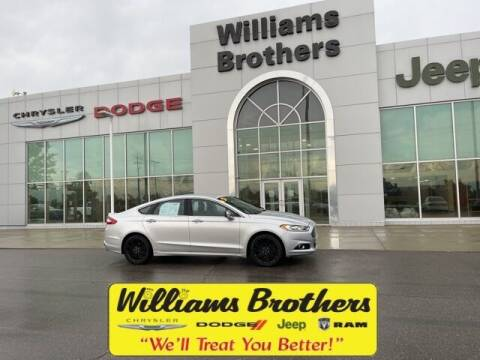 2014 Ford Fusion for sale at Williams Brothers - Pre-Owned Monroe in Monroe MI