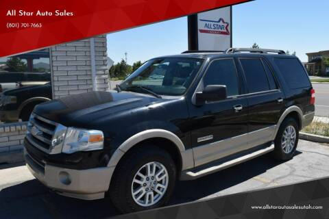 2008 Ford Expedition for sale at All Star Auto Sales in Pleasant Grove UT