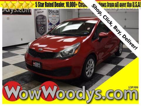 2013 Kia Rio for sale at WOODY'S AUTOMOTIVE GROUP in Chillicothe MO