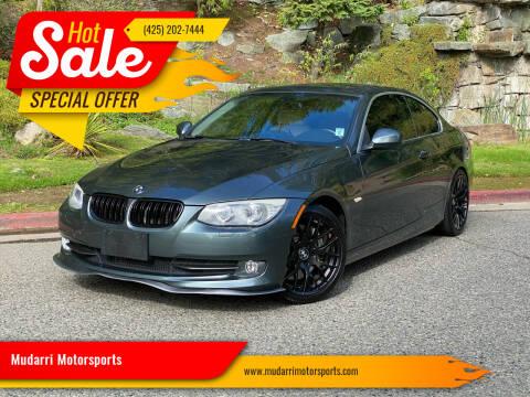 2011 BMW 3 Series for sale at Mudarri Motorsports in Kirkland WA
