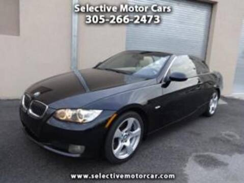 2008 BMW 3 Series for sale at Selective Motor Cars in Miami FL