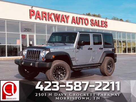 2013 Jeep Wrangler Unlimited for sale at Parkway Auto Sales, Inc. in Morristown TN