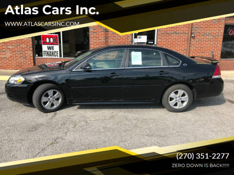 2009 Chevrolet Impala for sale at Atlas Cars Inc. - Radcliff Lot in Radcliff KY